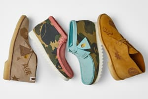 Clarks Originals x A Bathing Ape - Register Now on END. Launches