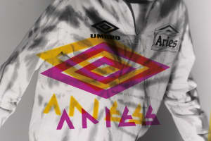 Aries Team Up with Umbro to Infuse Football & Gabber Culture