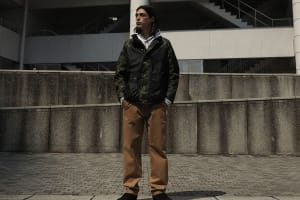 For AW21, Barbour Collaborates With A Bathing Ape For The First Time