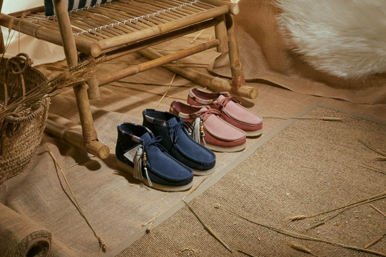 "END. x Clarks Originals ""Artisan Craft"" Pack"