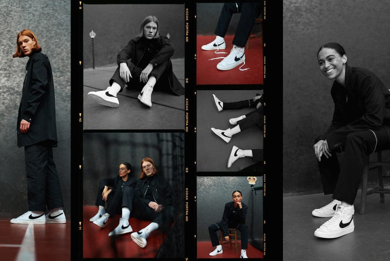 Perfect Retro: Nike Blazer Mid '77 Vintage - END. Sneaker Editorial