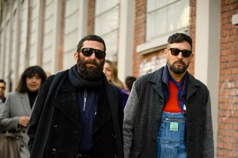 Street Style Report Milan Men's AW20