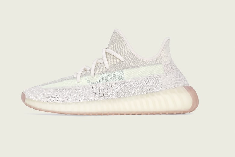 adidas + KANYE WEST YEEZY BOOST 350 v2 'Citrin Reflective' - FW5318