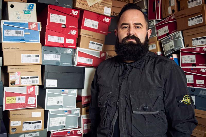 Flight Case Sneakers: Rob Stewart