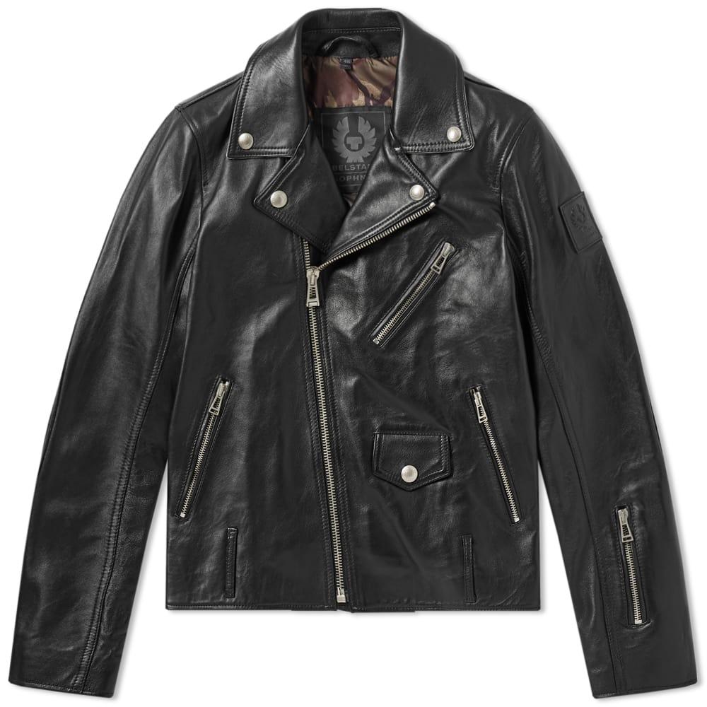 Belstaff x Sophnet Harden Leather Biker Jacket