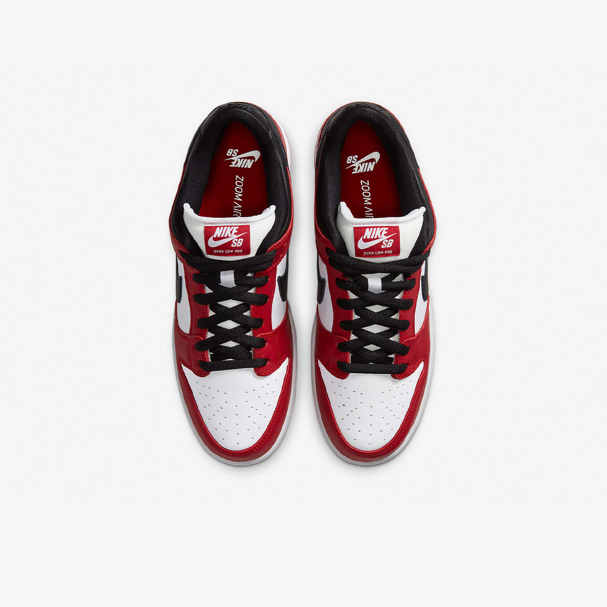"Nike SB Dunk Low Pro ""Chicago"" - BQ6817-600"