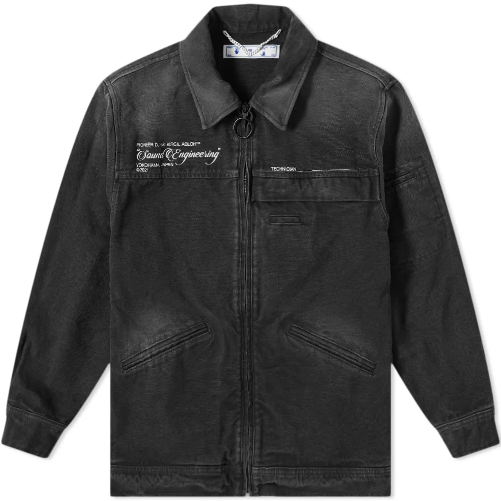 OFF-WHITE x Pioneer Console Coach Jacket