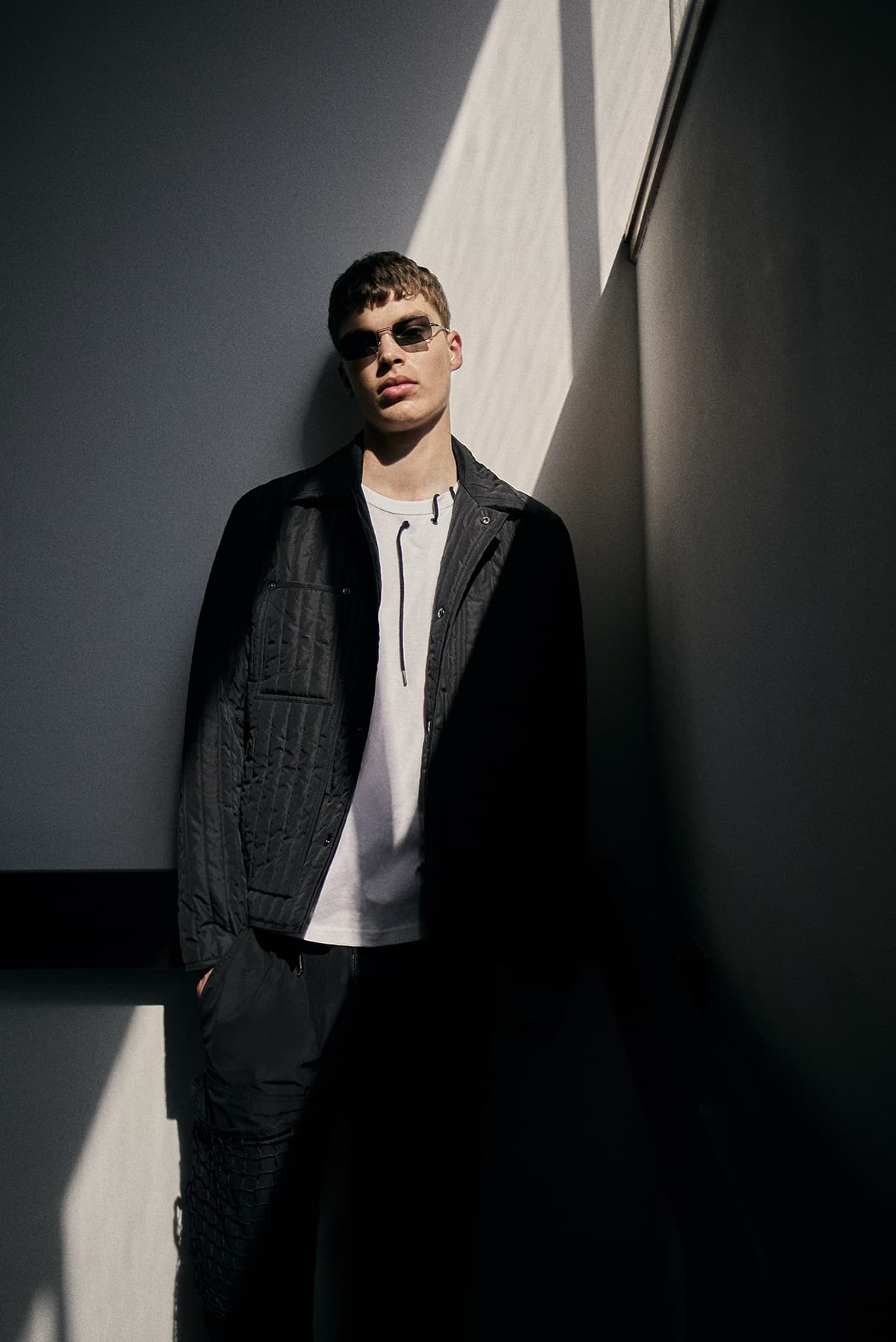 LDN Assembly END. Editorial SS19 - Model wears Craig Green and A-COLD-WALL*