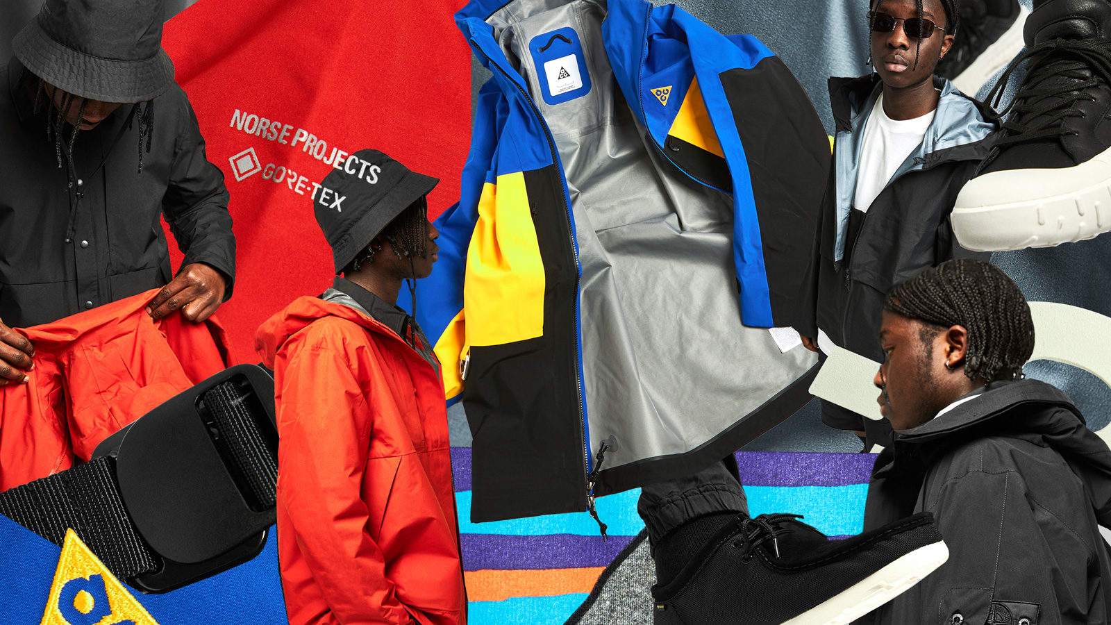 END.'s Curated 007 editorial: Gore-Tex