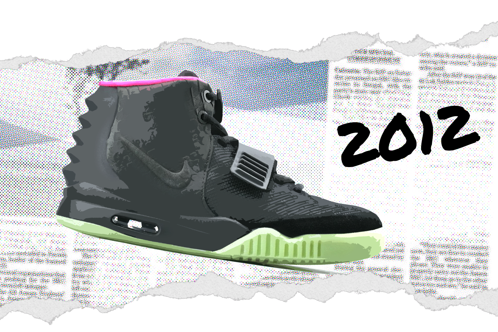 Nike Air YEEZY 2 'Solar Red' 508214-006