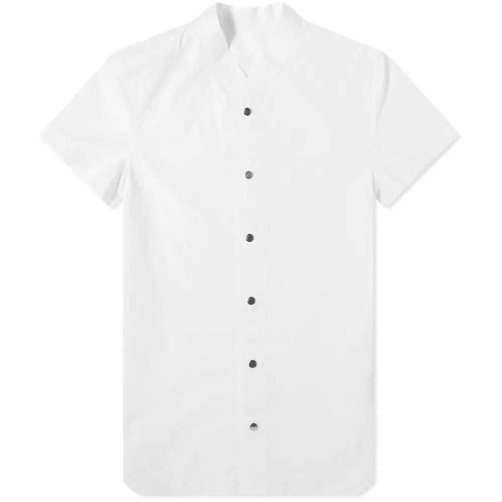 Rick Owens Short Sleeve Vacation Shirt