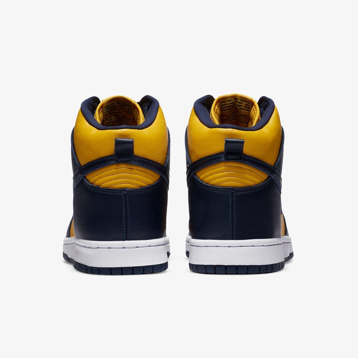 "Nike Dunk Hi SP ""Michigan"" - CZ81249-700"