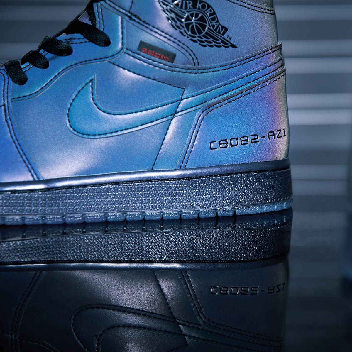 End Features Air Jordan 1 High Zoom Fearless Register Now On