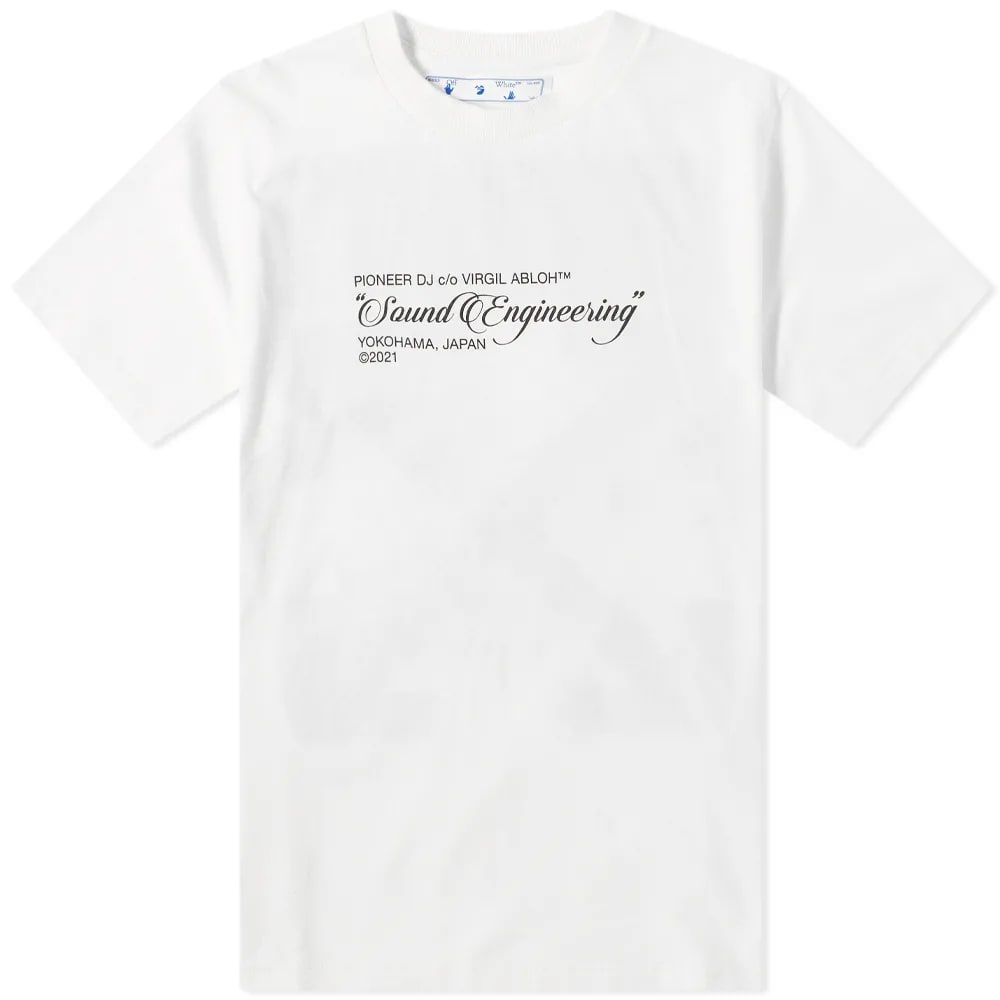 OFF-WHITE x Pioneer Console Tee