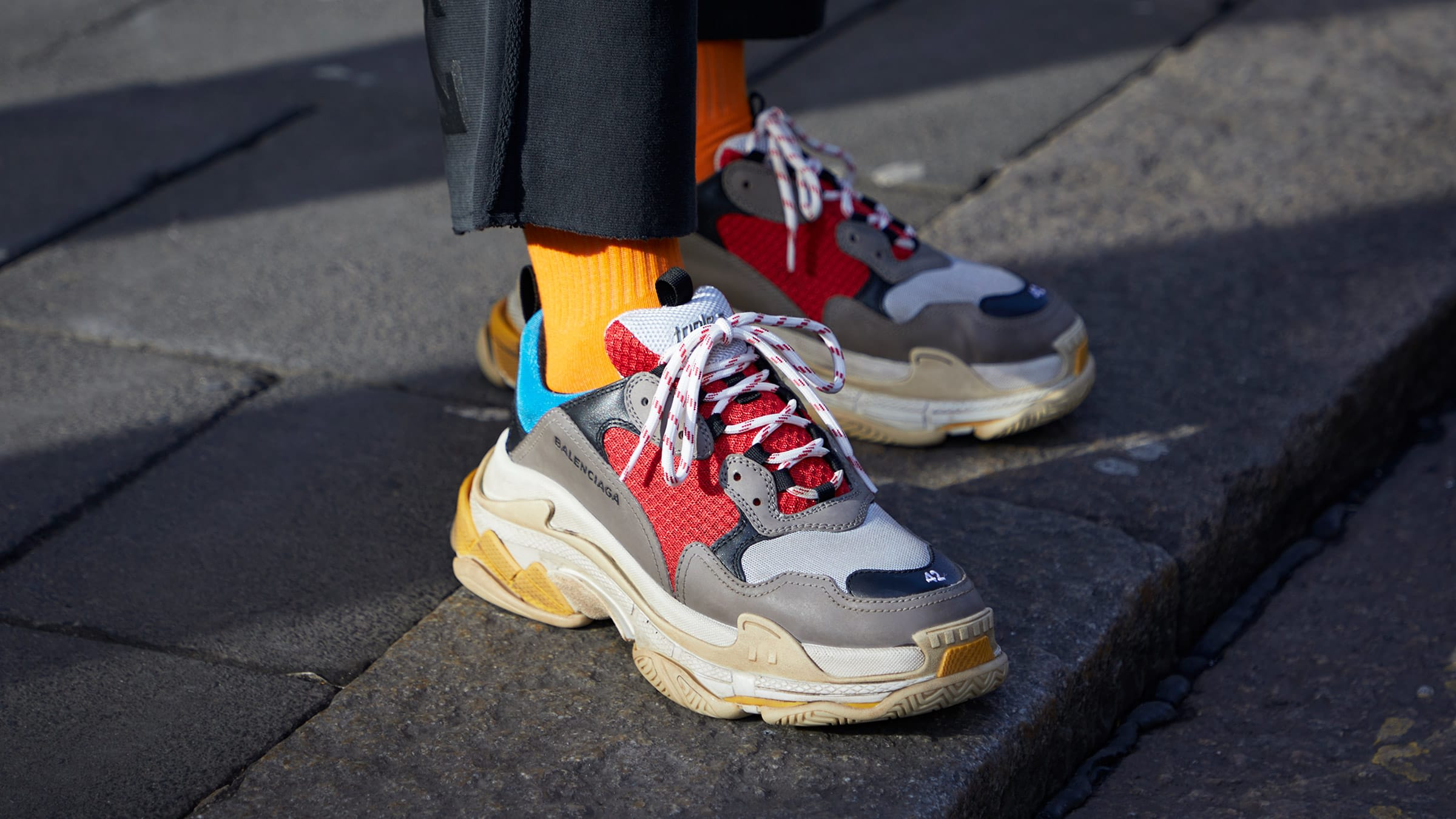 Uncle Lin P550 U L Balenciaga Triple S Trainer