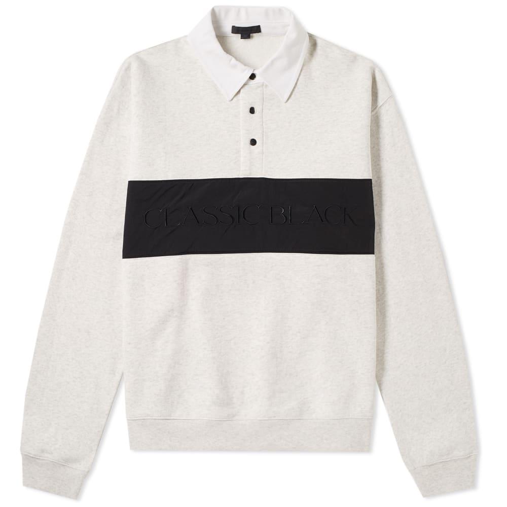 Long Sleeve Vintage Fleece Polo