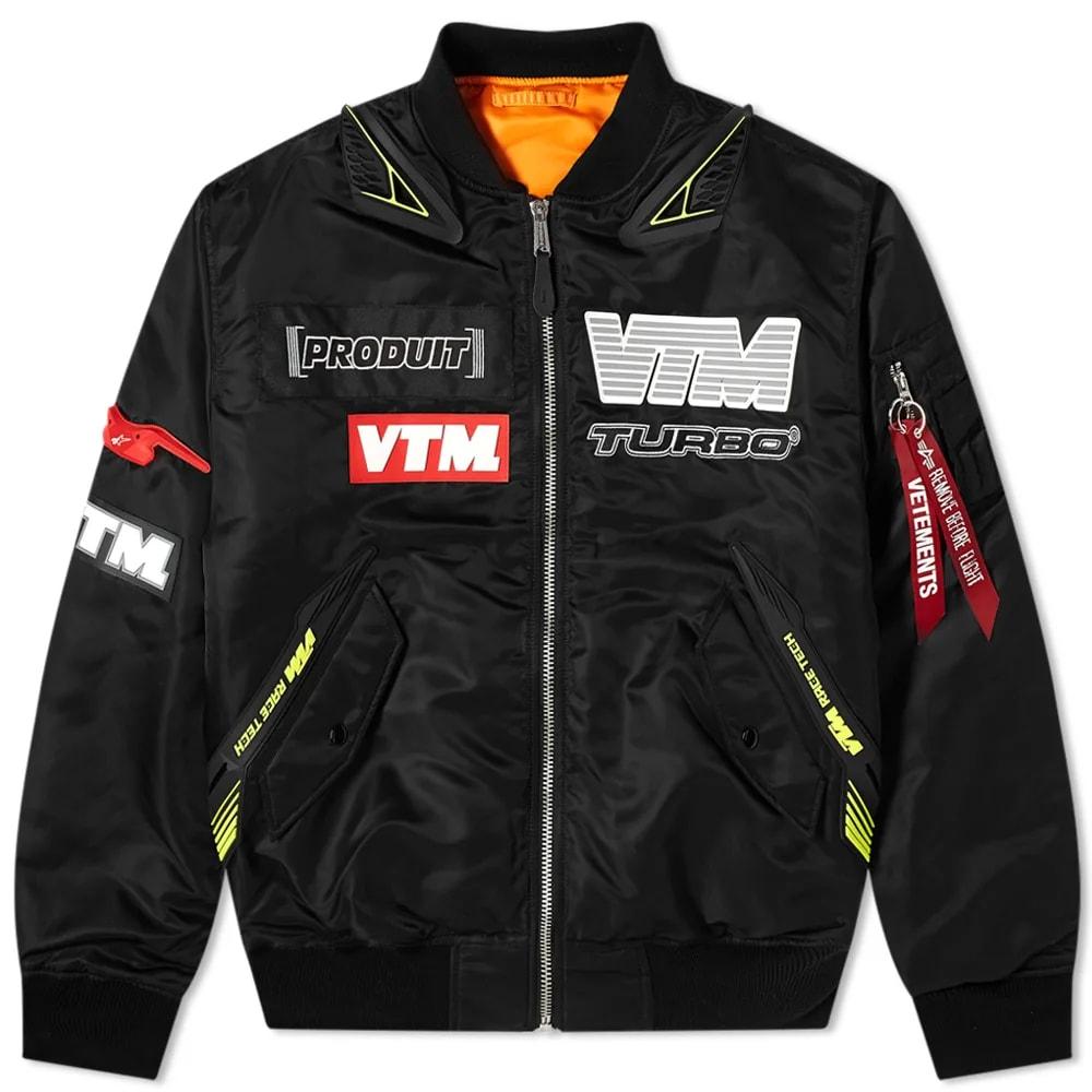 VETEMENTS Motorcycle Bomber Jacket