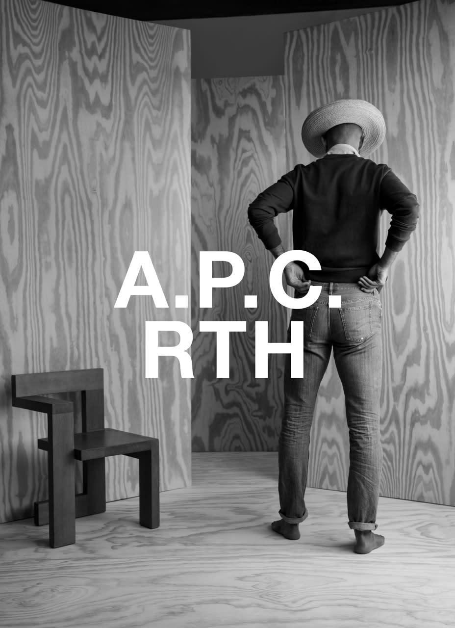 """A.P.C. Share """"INTERACTION#10"""" Look Book in Collaboration With RTH"""