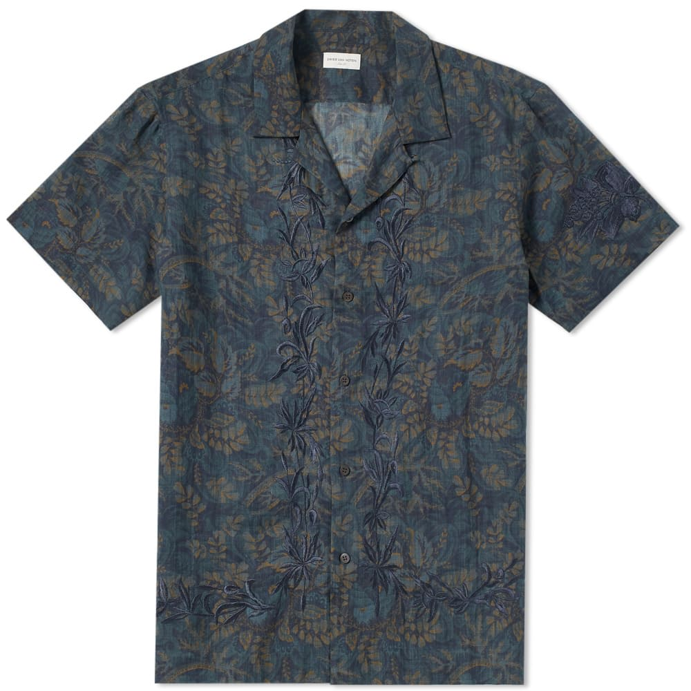 Carlton Embroidered Vacation Shirt