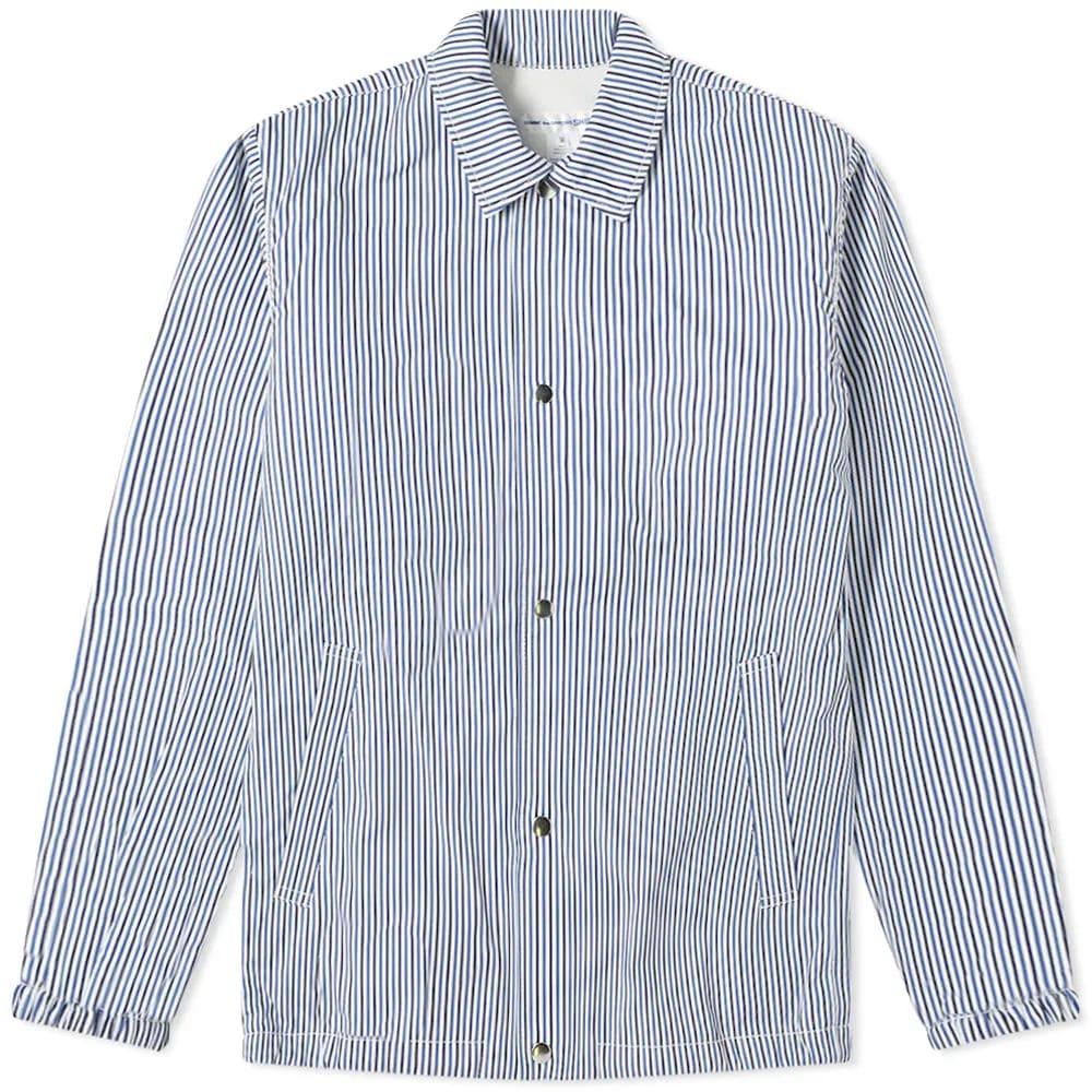 Comme des Garçons SHIRT Stripe Coach Jacket