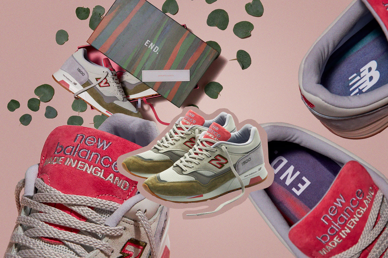 "END. X NEW BALANCE 1500 ""RAINBOW EUCALYPTUS"""