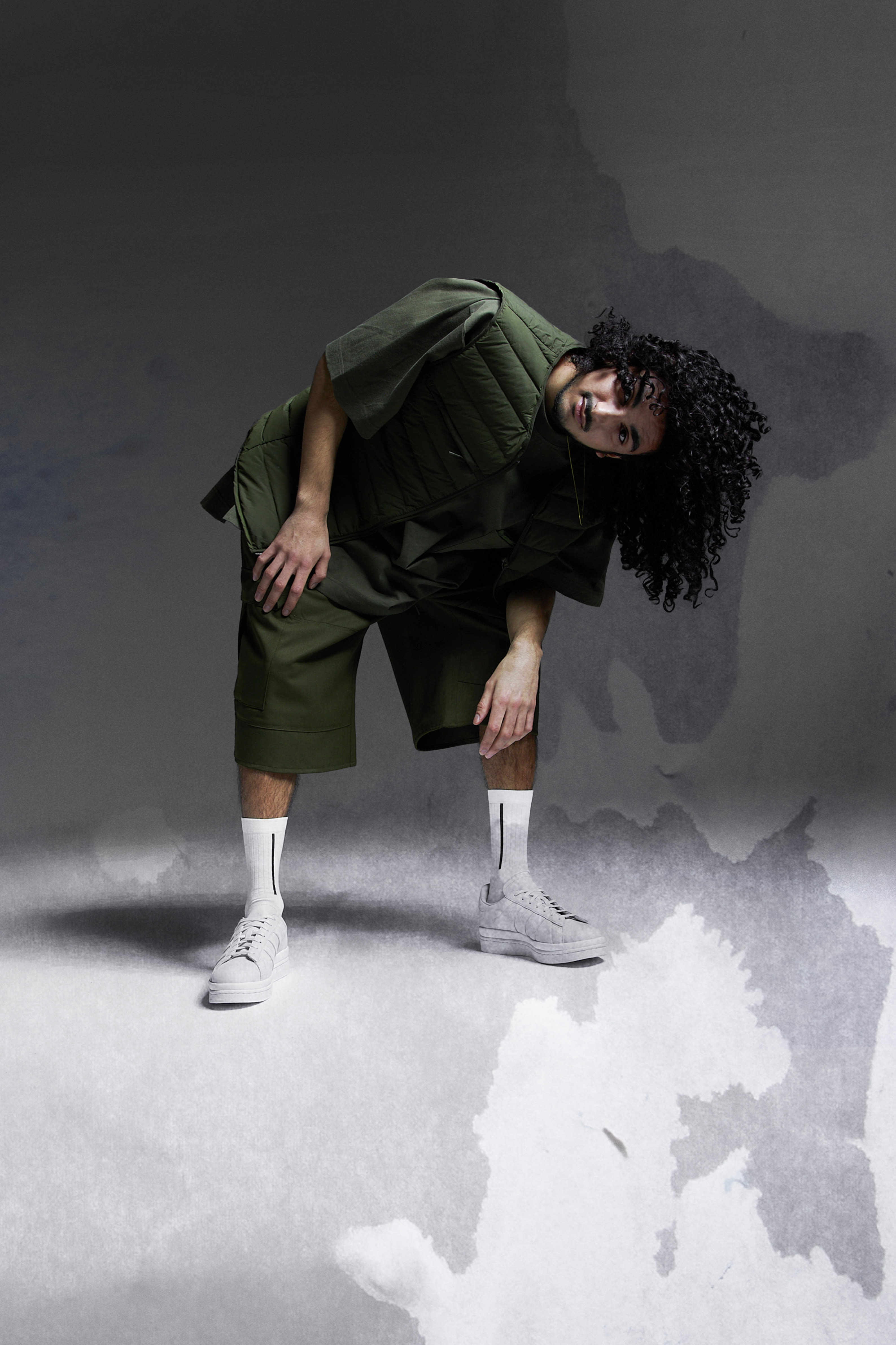 Osquello wearing Y-3 for END.
