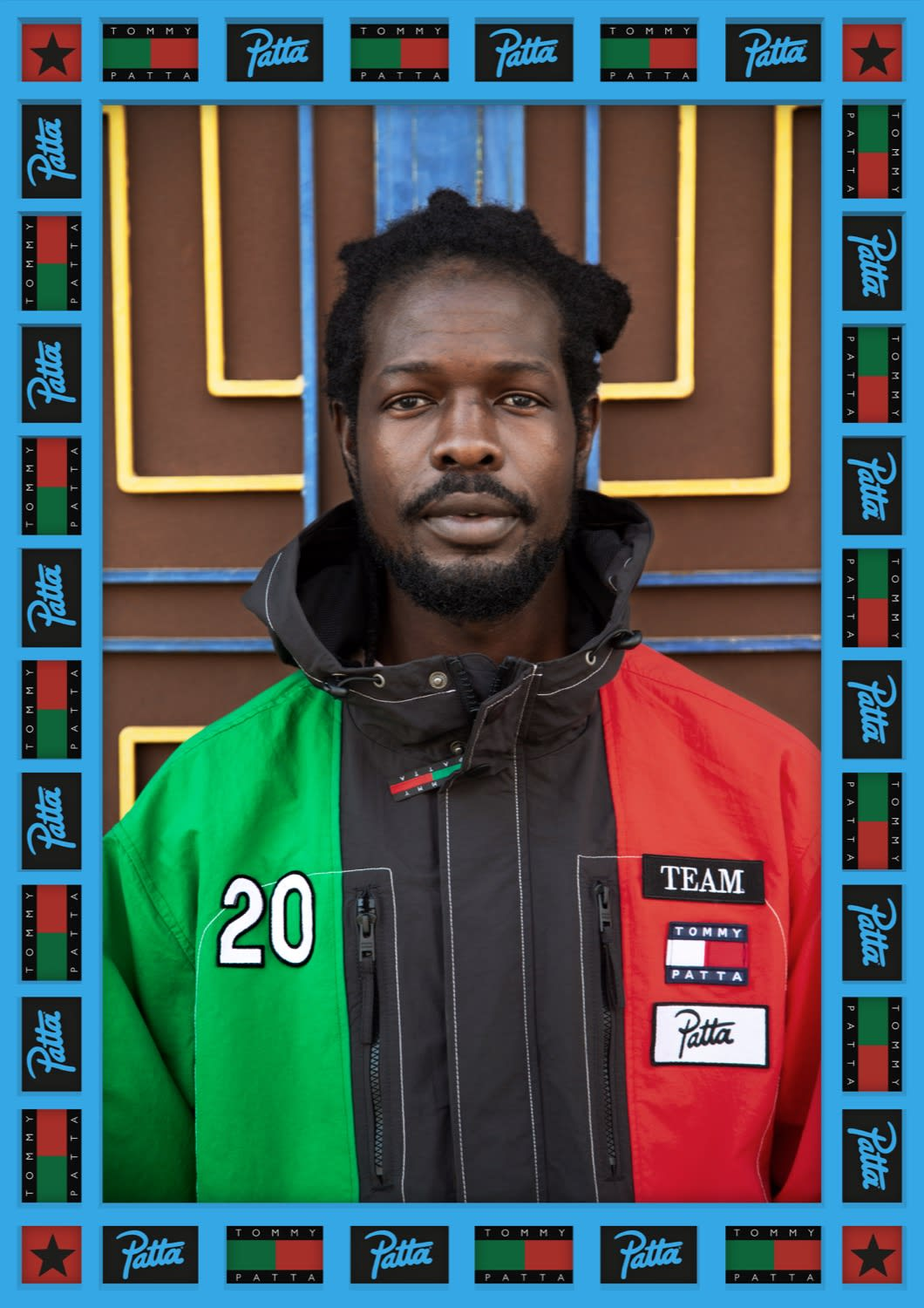 Tommy Jeans & Patta Celebrate Pan-African Unity in this look book shot by Hassan Hajjaj