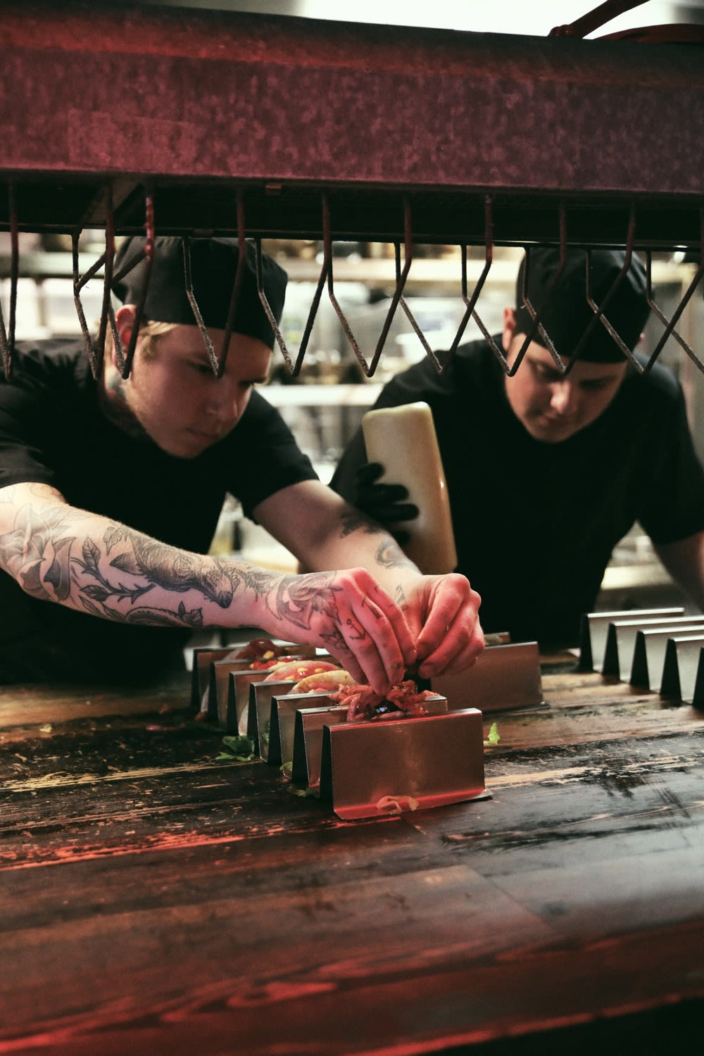 Chefs working at Tacos & Tequila - Axel Arigato City Guide Gothenburg