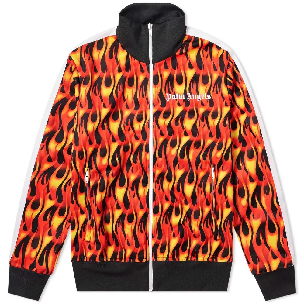 Palm Angels Burning Track Jacket