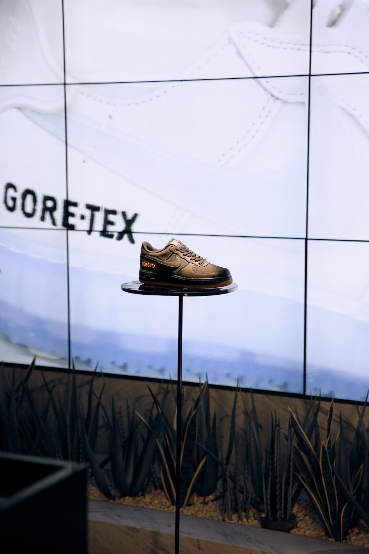 END. Soho Nike AF1 Gore-Tex installation