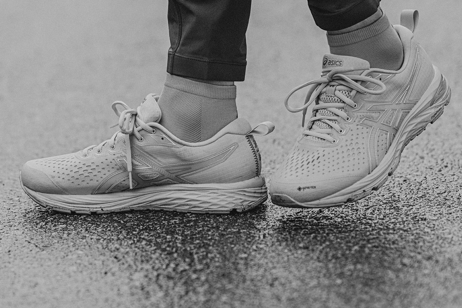 ASICS x Reigning Champ editorial featuring Jess Booi