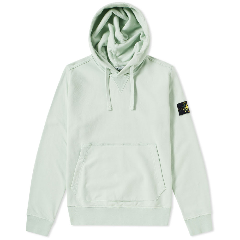 Garment Dyed Popover Hoody