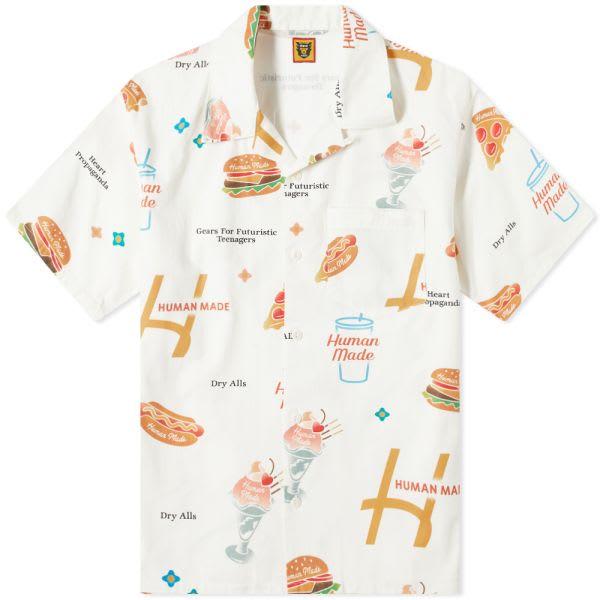HUMAN MADE Junk Food Vacation Shirt