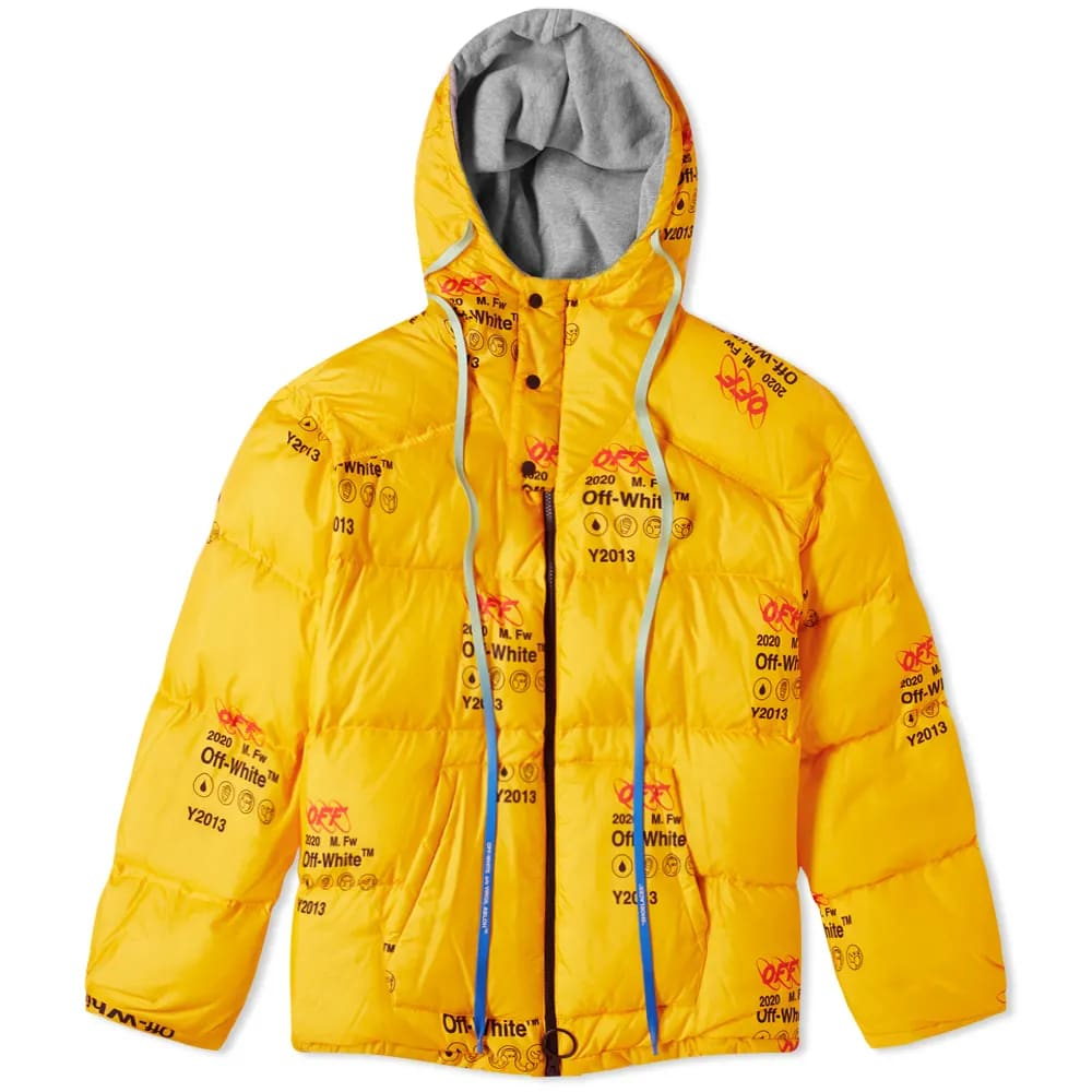 Off-White Industrial Zipped Puffer Jacket