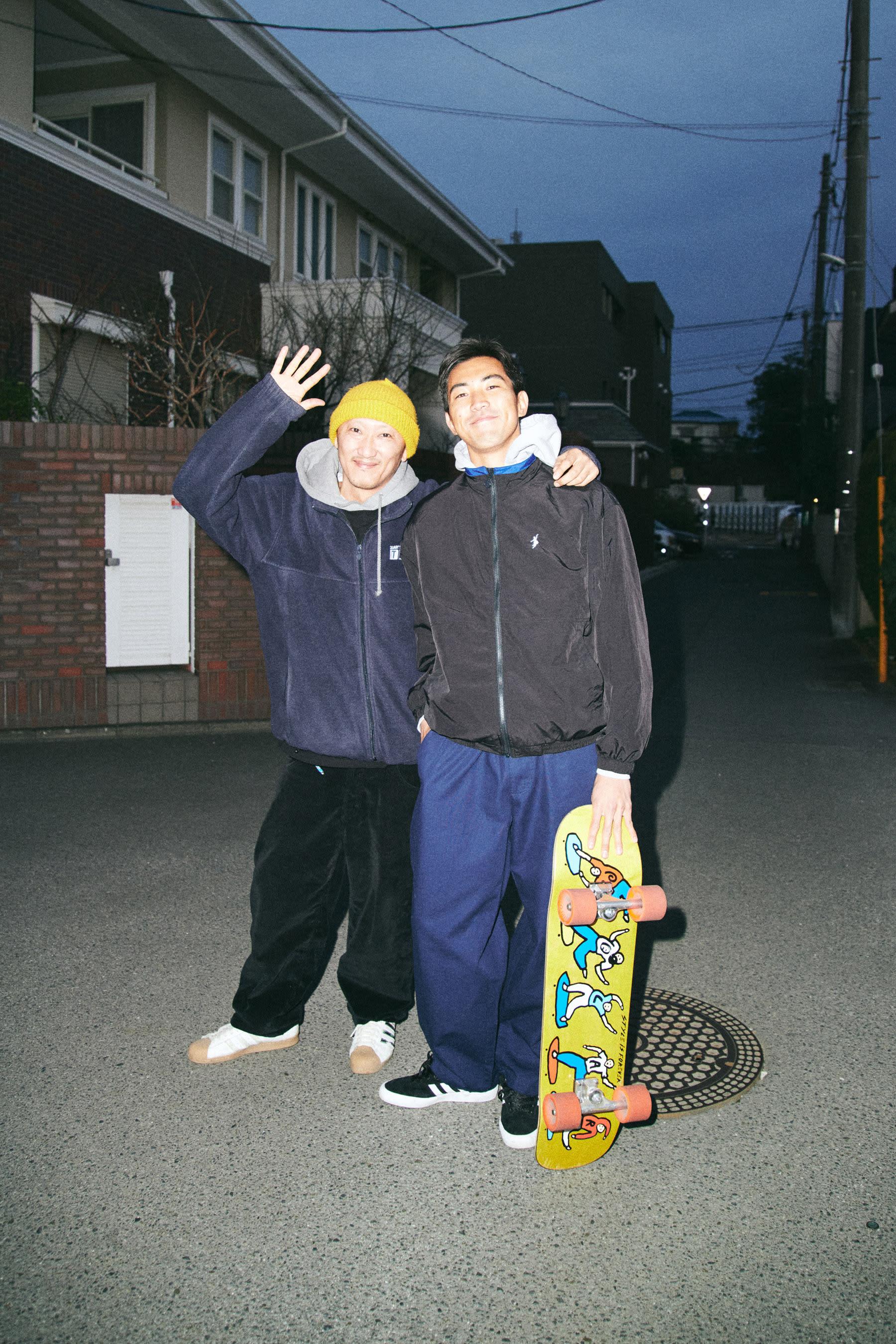 Polar Skate Co. SS20 Lookbook featuring Shin Sanbongi in Chigasaki