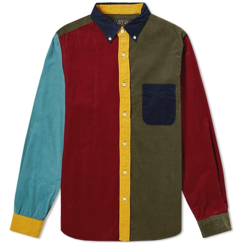 Beams Plus Button Down Crazy Cord Shirt
