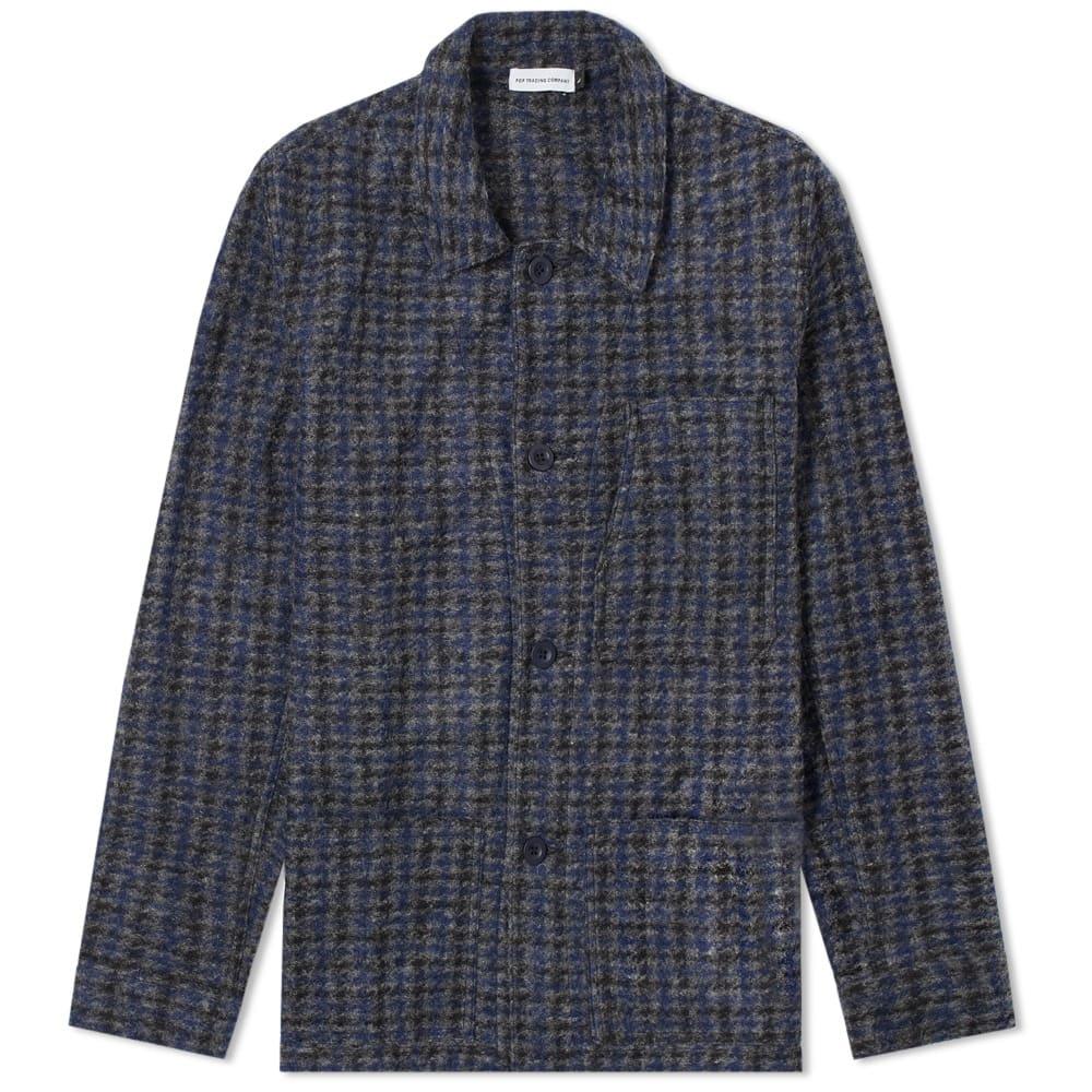 Metrospective Wool Check Jacket