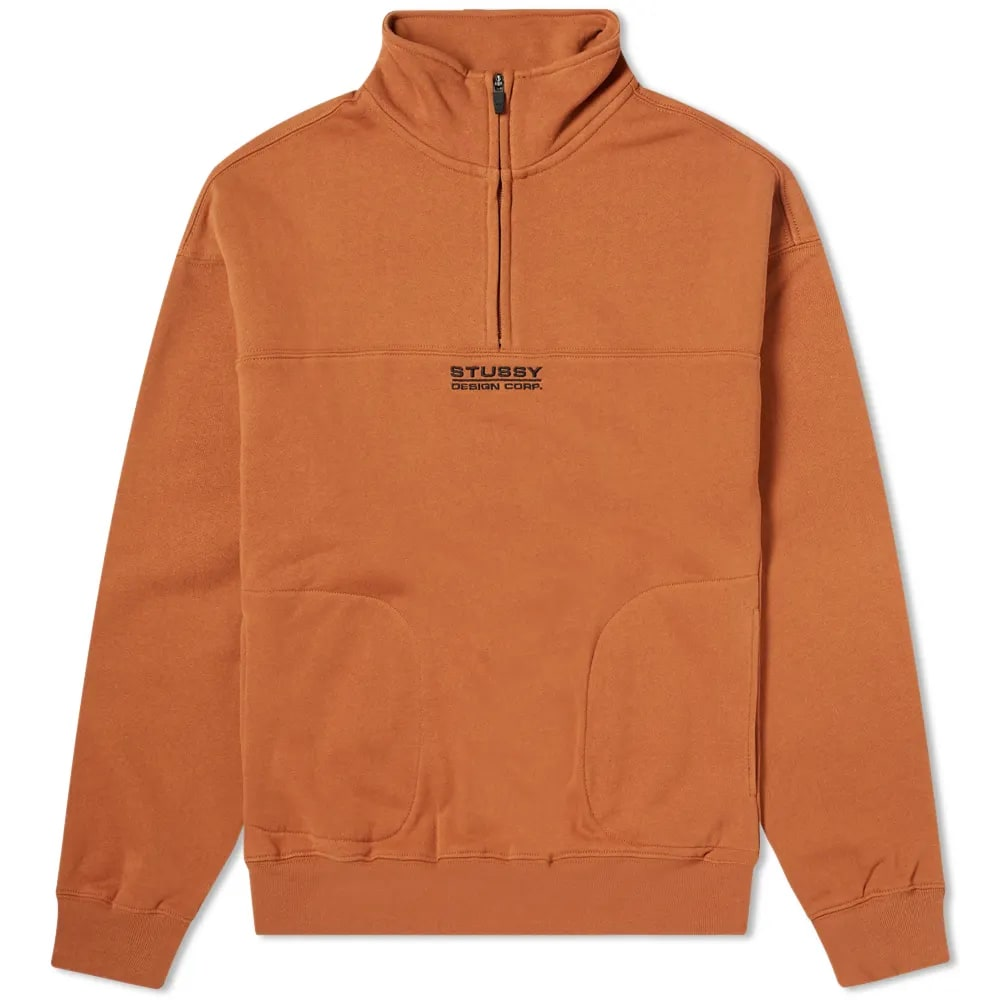 Stüssy Mock Neck Half Zip