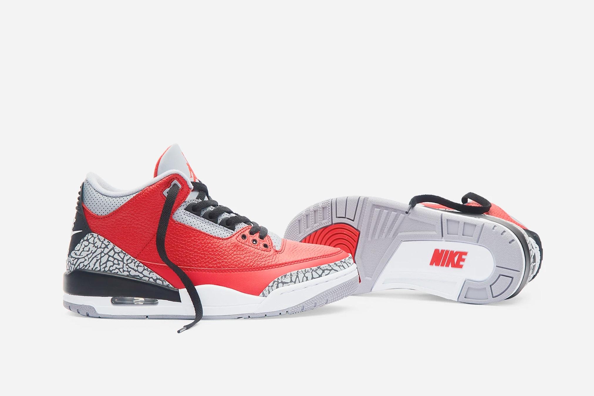 Nike Air Jordan 3 'Red Cement' CK5692-600