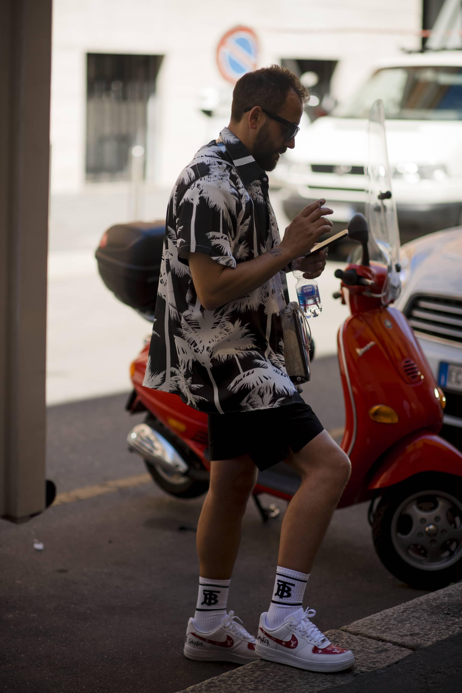 Milan Fashion Week SS20 Street Style