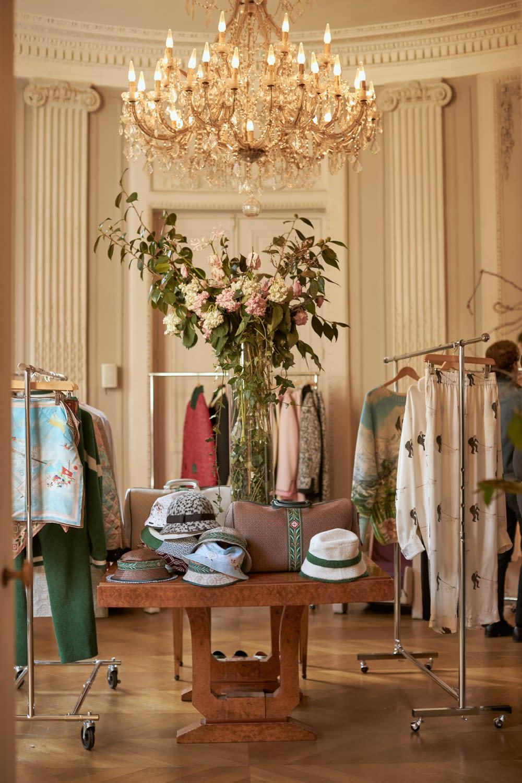 Casablanca's AW20 showroom for Paris Men's Fashion Week