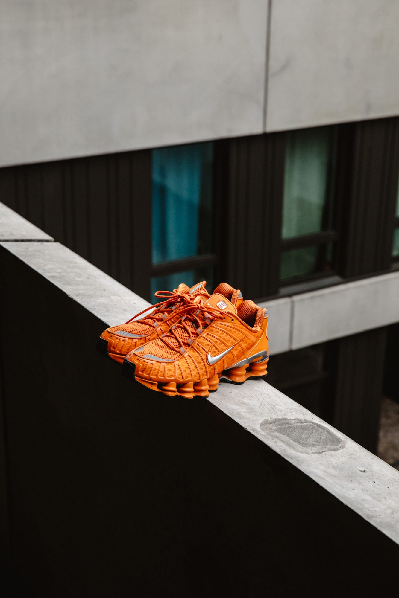 Flight Case Sneakers: Fabian Gorsler at Home in Berlin, image features Nike Shox TL
