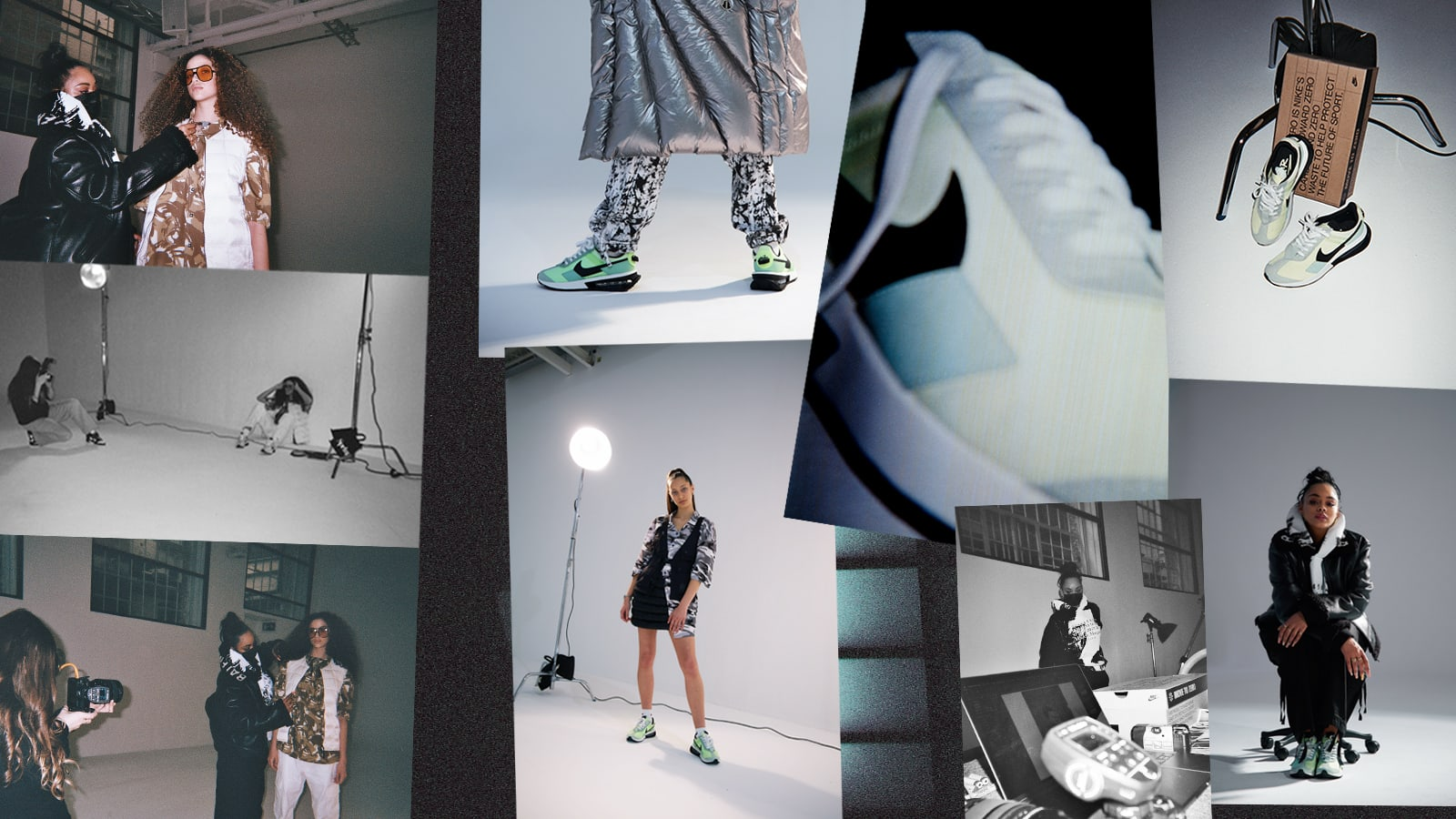 ON SET: Leah Abbott Shoots Nike Air Max Pre-Day