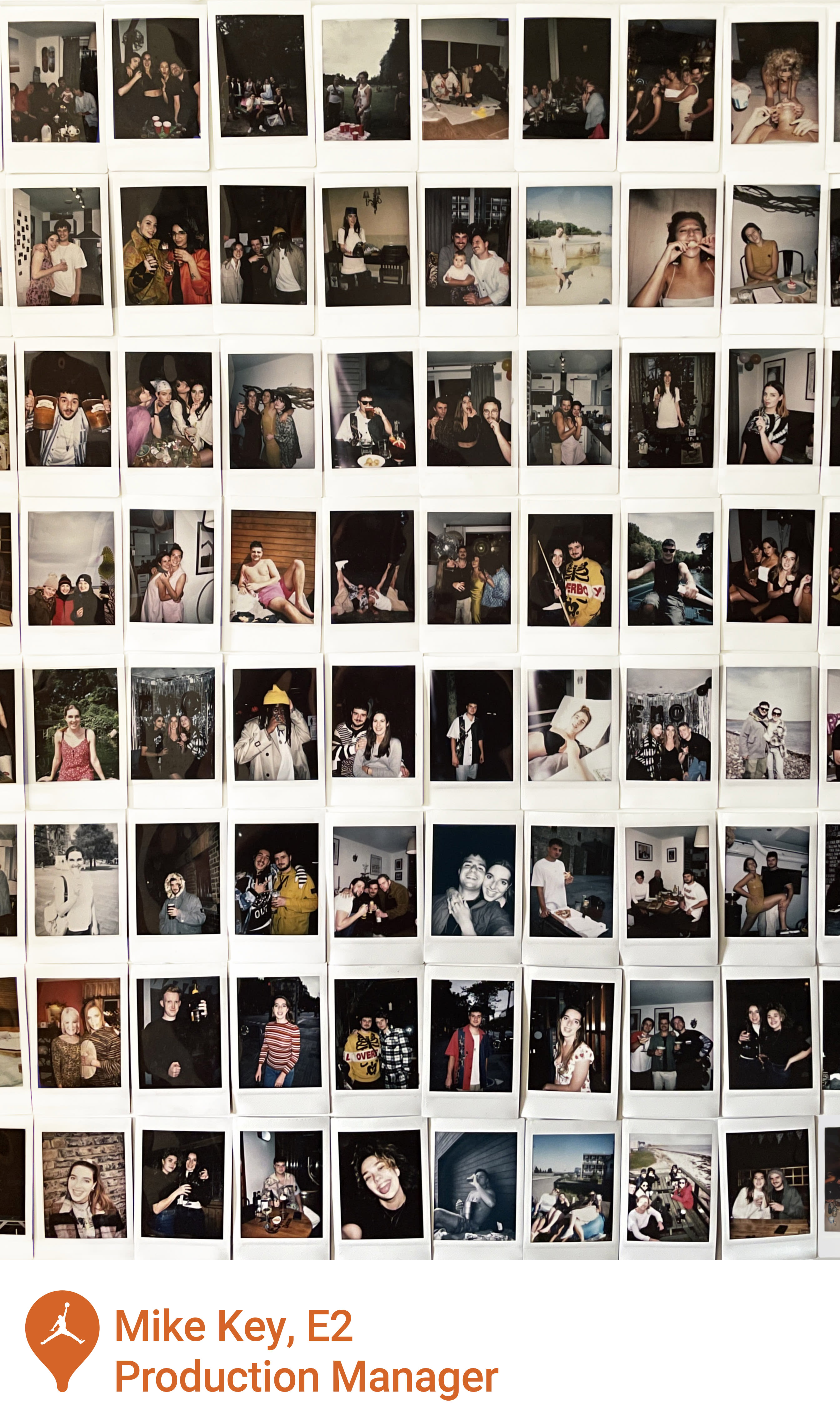 Air Jordan One: A Love Letter to London - Mike Key Polaroids