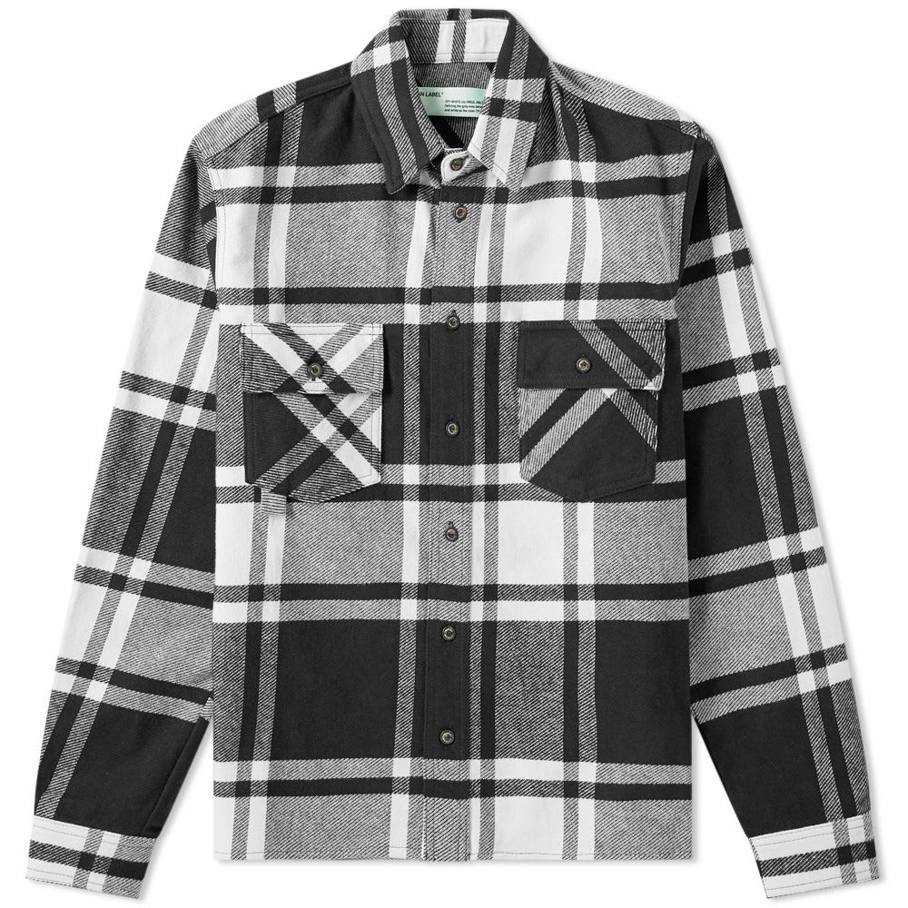 Off-White Flannel Shirt
