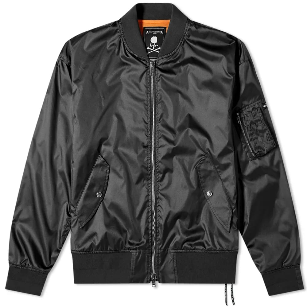 MASTERMIND WORLD Crystal Skull MA-1 Jacket