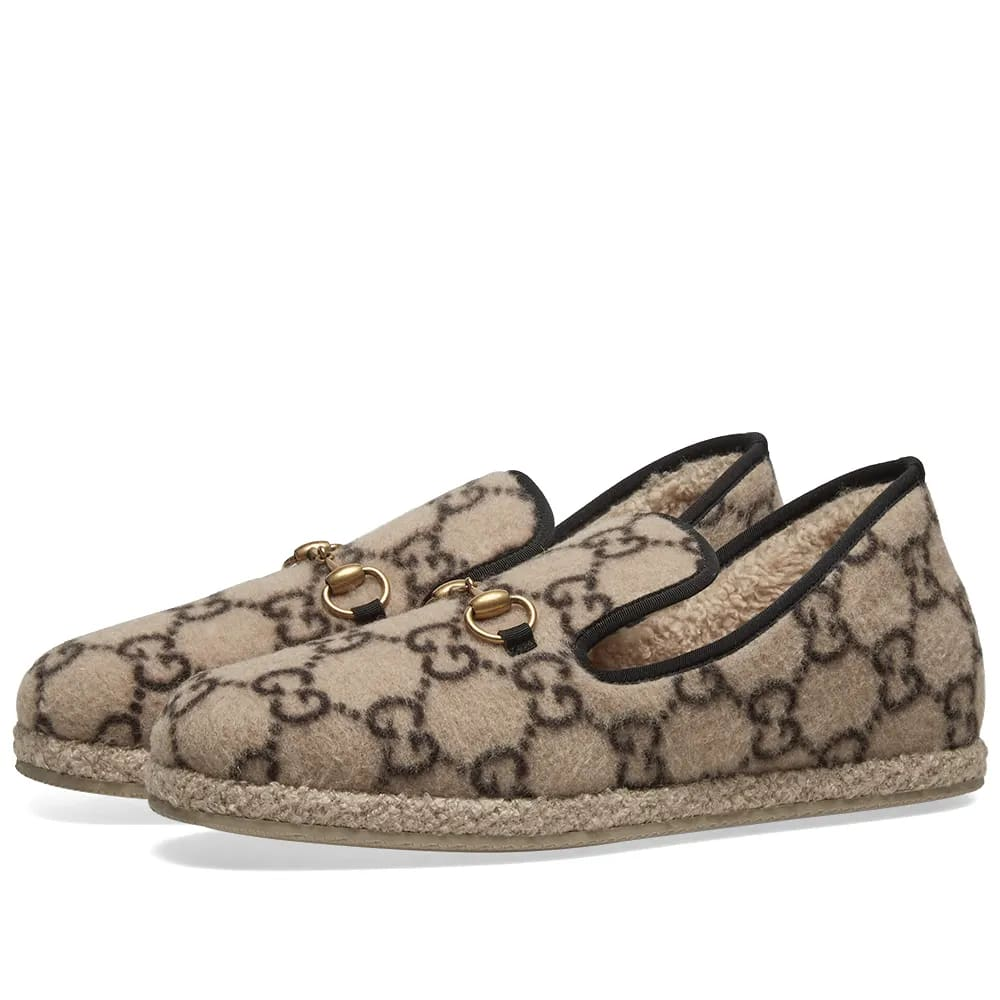 Gucci Fria Wool Loafer