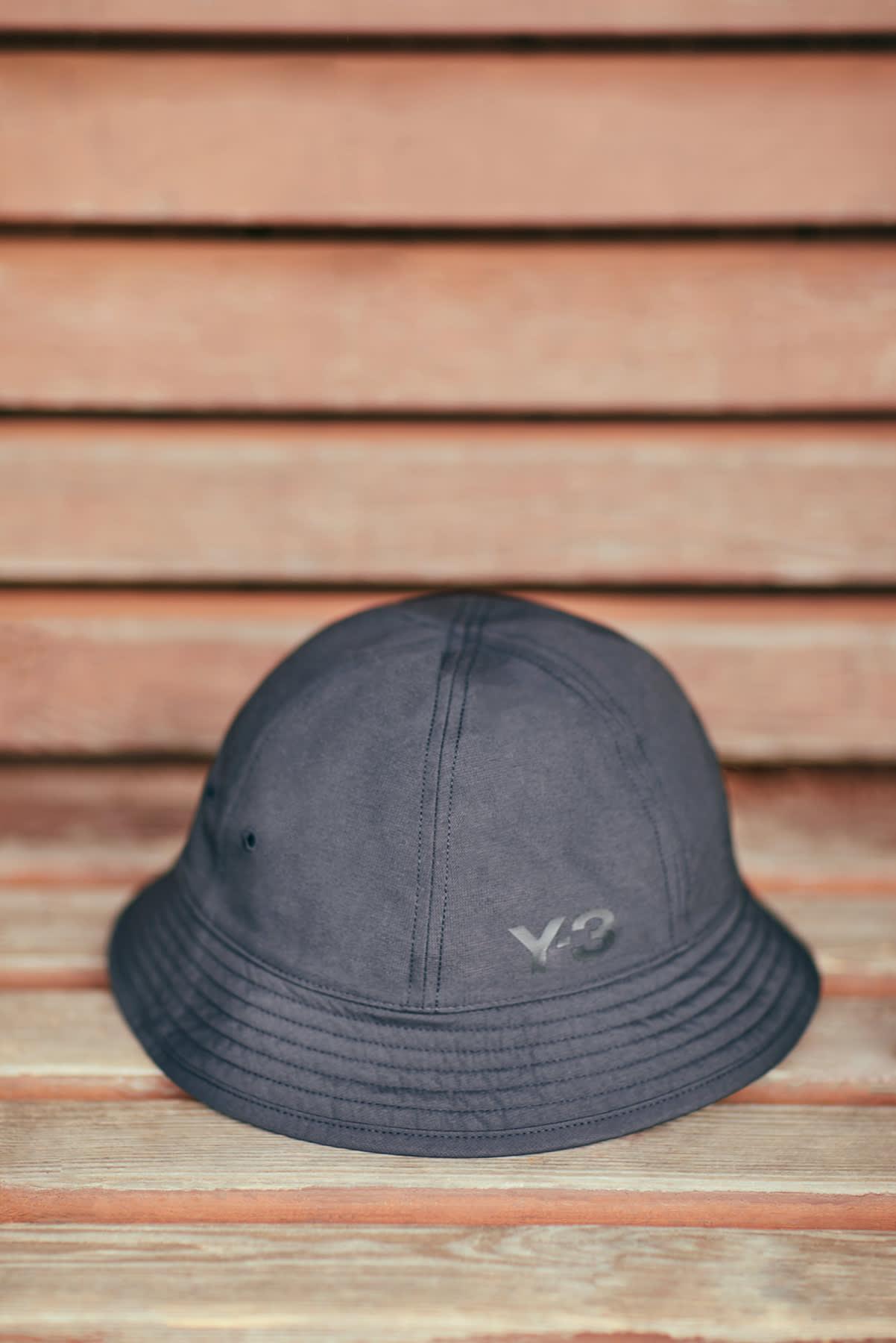 END. Required Item: Bucket Hats - Model Wears Y-3 Bucket Hat