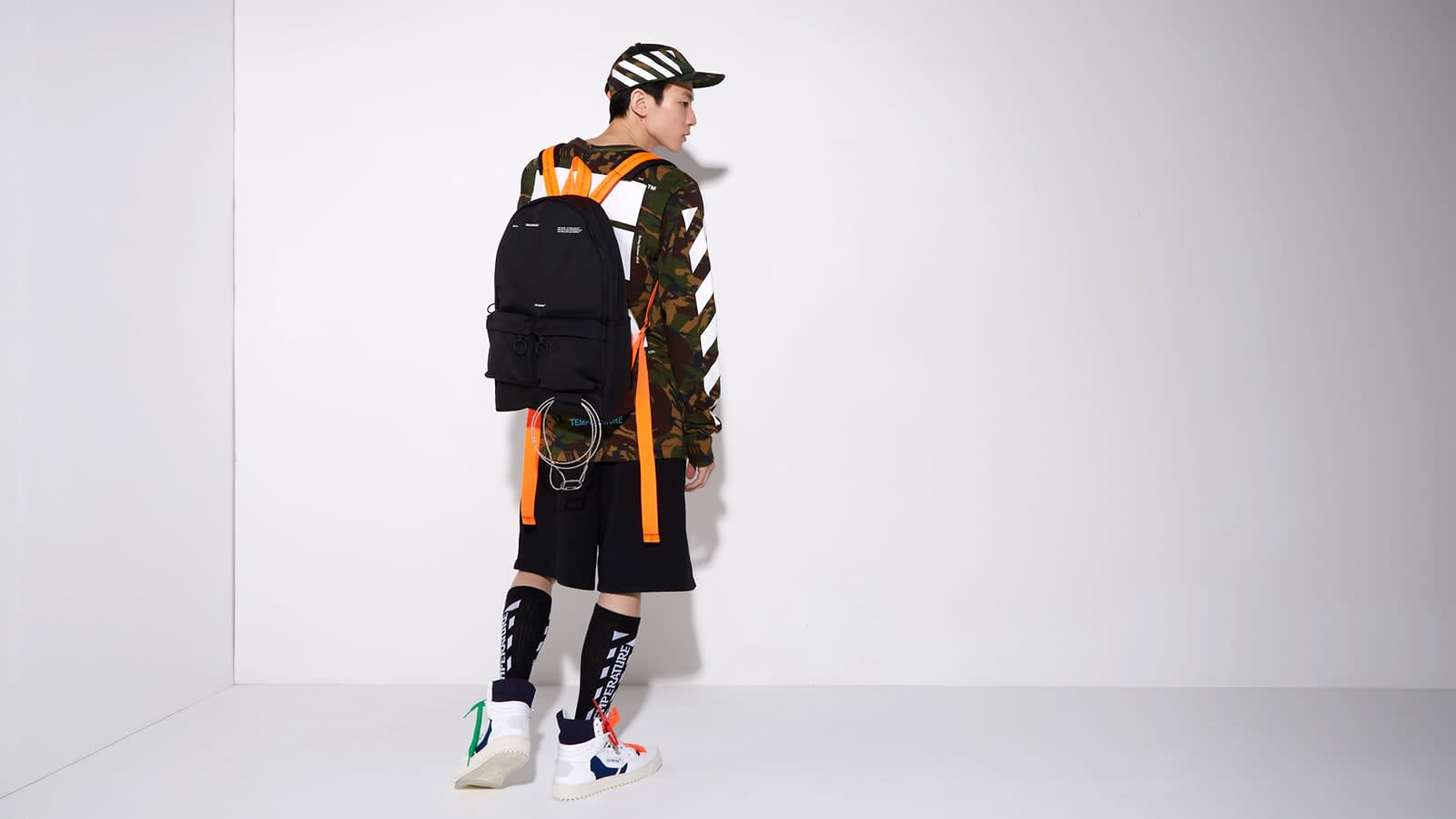 Police For His Off White x Nike Zip
