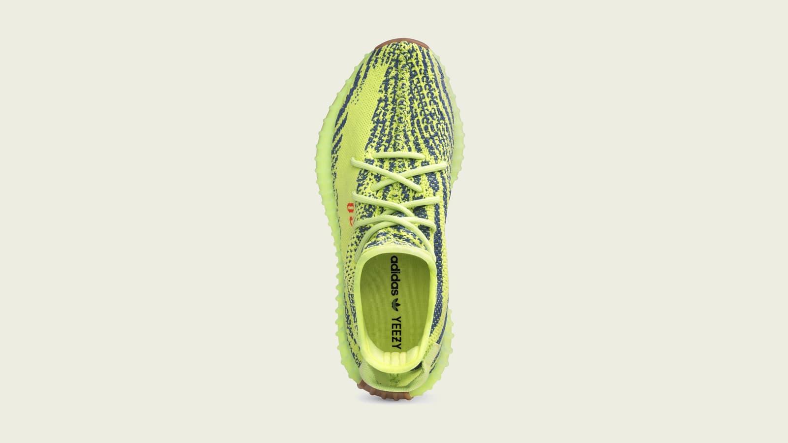 adidas X Yeezy Yellow Boost 350 V2 Semi Frozen Shoes